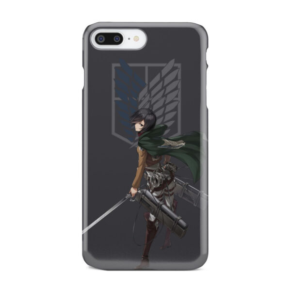 Attack On Titans Mikasa for Cool iPhone 8 Plus Case Cover