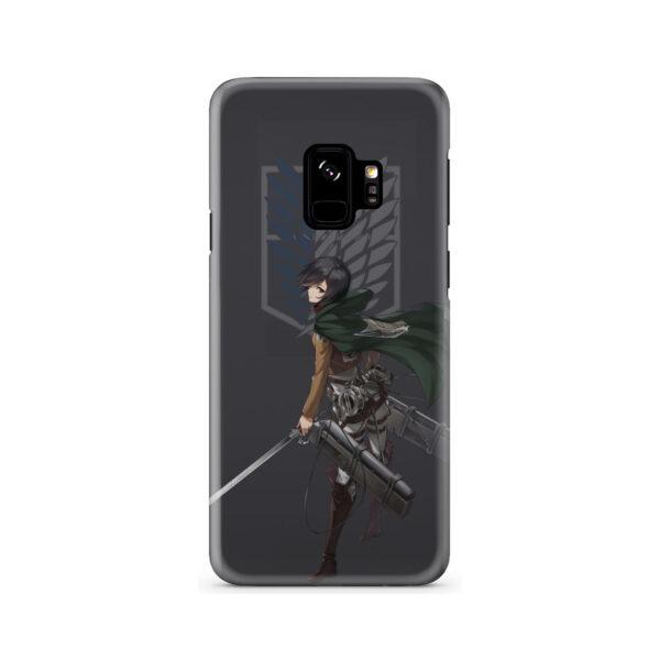 Attack On Titans Mikasa for Cool Samsung Galaxy S9 Case