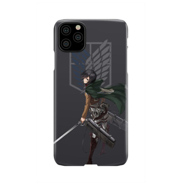 Attack On Titans Mikasa for Custom iPhone 11 Pro Max Case Cover