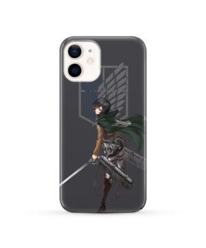 Attack On Titans Mikasa for Custom iPhone 12 Case