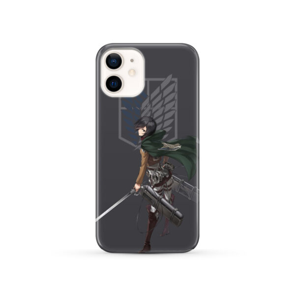 Attack On Titans Mikasa for Custom iPhone 12 Case
