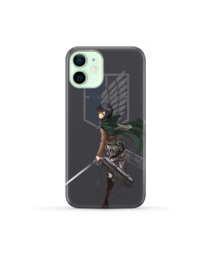 Attack On Titans Mikasa for Custom iPhone 12 Mini Case Cover