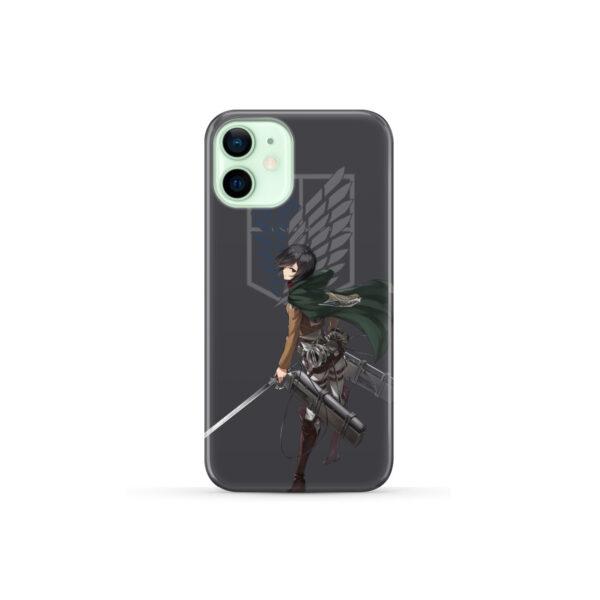 Attack On Titans Mikasa for Custom iPhone 12 Mini Case Cover