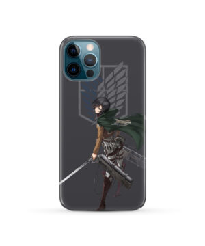 Attack On Titans Mikasa for Custom iPhone 12 Pro Case