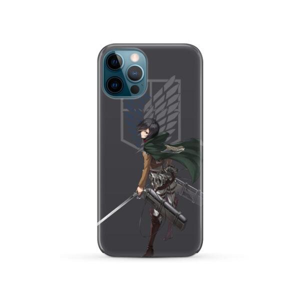 Attack On Titans Mikasa for Custom iPhone 12 Pro Case