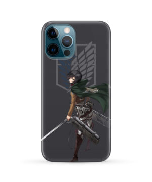 Attack On Titans Mikasa for Custom iPhone 12 Pro Max Case