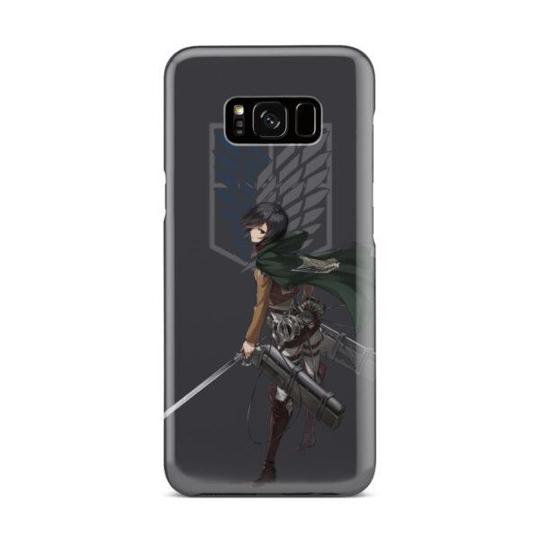 Attack On Titans Mikasa for Customized Samsung Galaxy S8 Plus Case Cover