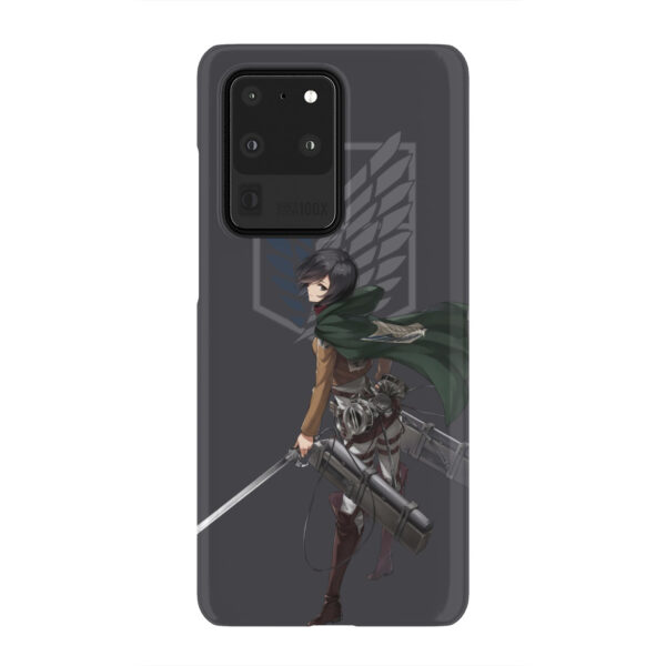 Attack On Titans Mikasa for Cute Samsung Galaxy S20 Ultra Case