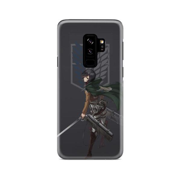 Attack On Titans Mikasa for Cute Samsung Galaxy S9 Plus Case Cover
