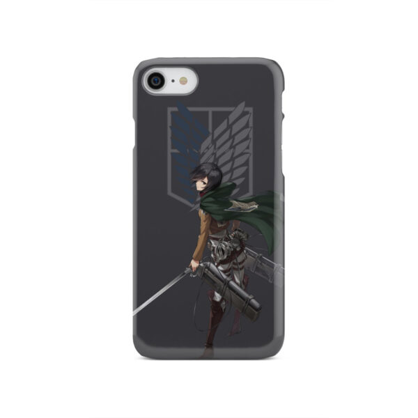 Attack On Titans Mikasa for Simple iPhone SE 2020 Case