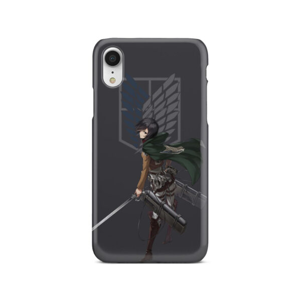 Attack On Titans Mikasa for Stylish iPhone XR Case Cover