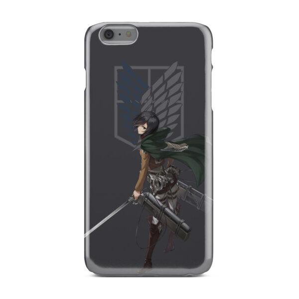 Attack On Titans Mikasa for Trendy iPhone 6 Plus Case