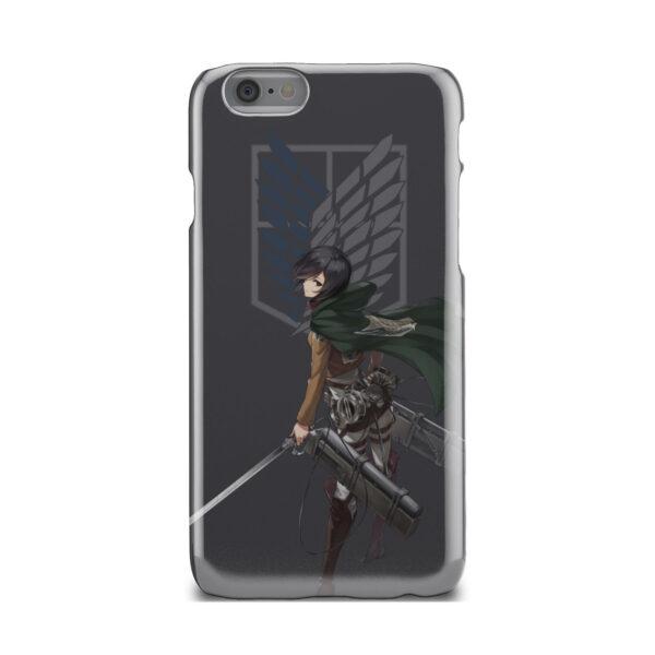 Attack On Titans Mikasa for Unique iPhone 6 Case