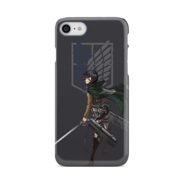 Attack On Titans Mikasa for Unique iPhone 8 Case