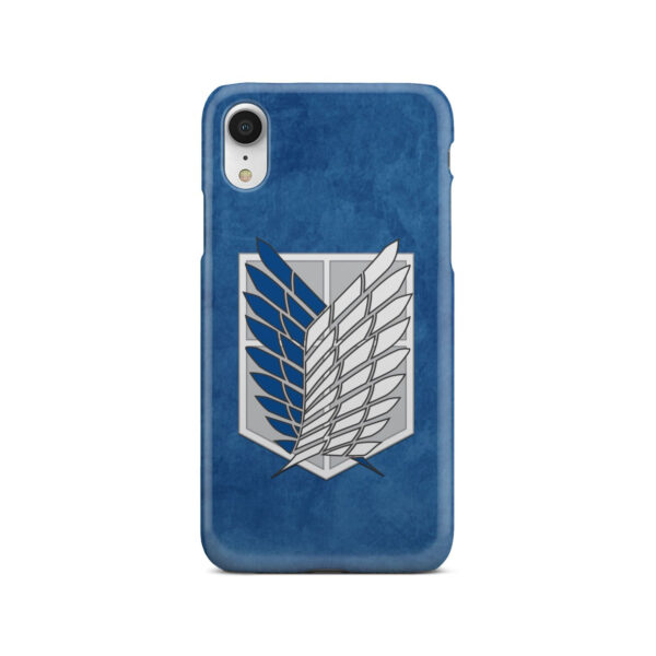 Attack On Titans Recon Corps for Amazing iPhone XR Case