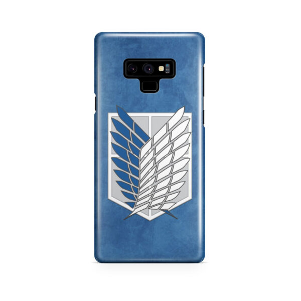 Attack On Titans Recon Corps for Amazing Samsung Galaxy Note 9 Case Cover