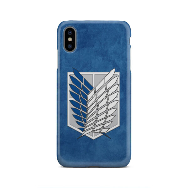 Attack On Titans Recon Corps for Best iPhone XS Max Case Cover