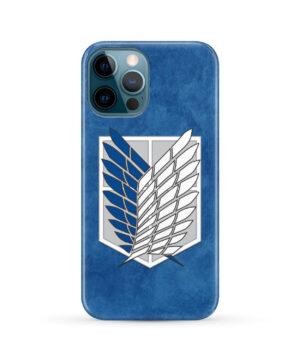 Attack On Titans Recon Corps for Custom iPhone 12 Pro Max Case Cover