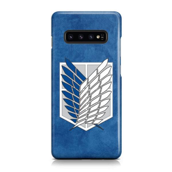 Attack On Titans Recon Corps for Cute Samsung Galaxy S10 Case Cover