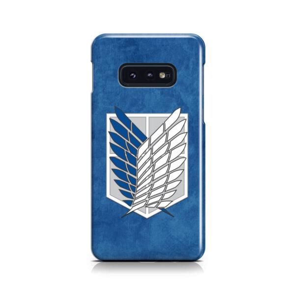 Attack On Titans Recon Corps for Newest Samsung Galaxy S10e Case Cover