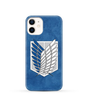 Attack On Titans Recon Corps for Nice iPhone 12 Case