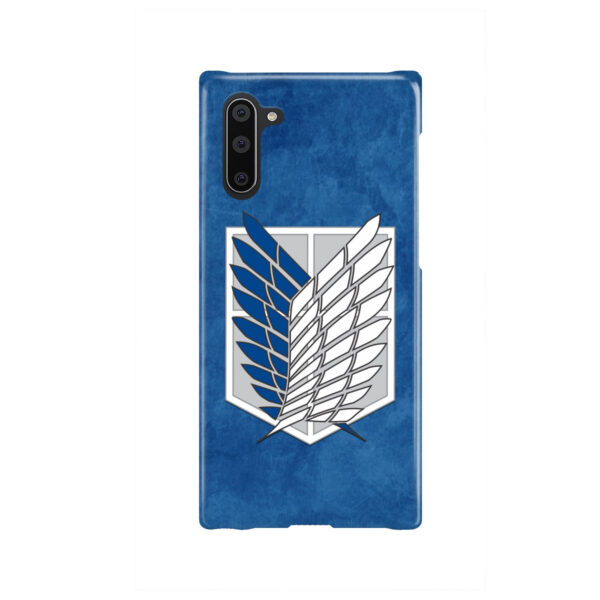 Attack On Titans Recon Corps for Nice Samsung Galaxy Note 10 Case