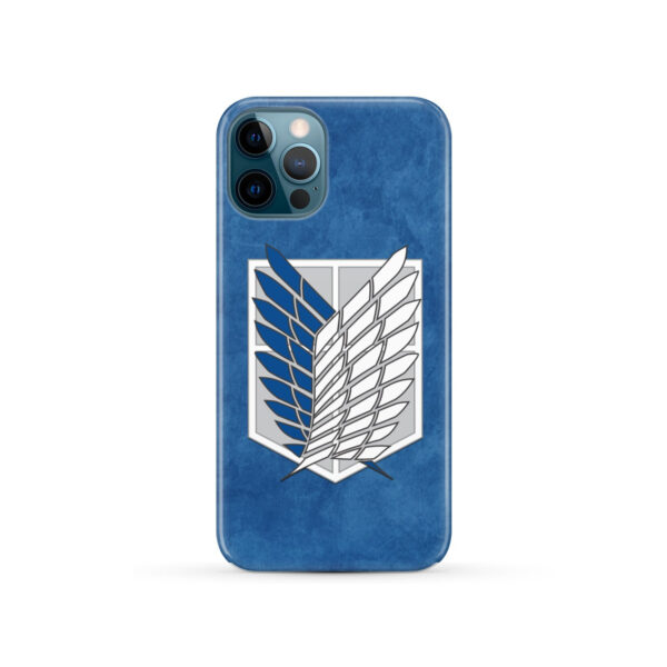 Attack On Titans Recon Corps for Personalised iPhone 12 Pro Case