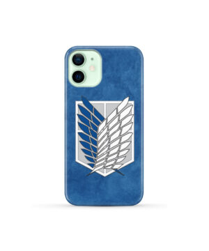 Attack On Titans Recon Corps for Premium iPhone 12 Mini Case