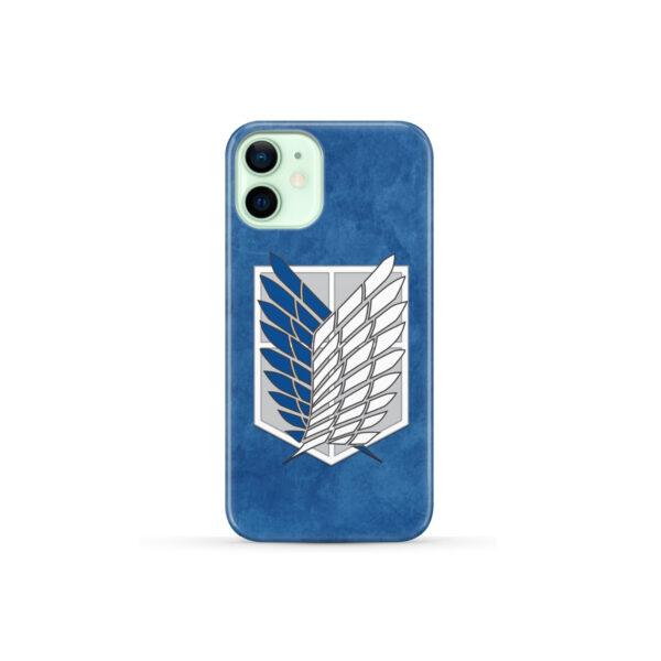Attack On Titans Recon Corps for Premium iPhone 12 Mini Case