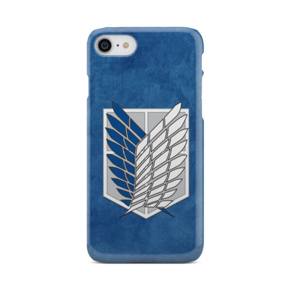 Attack On Titans Recon Corps for Simple iPhone 7 Case
