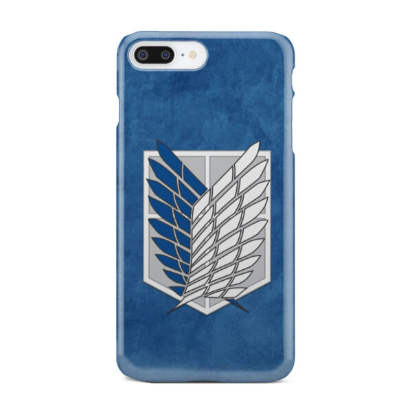 Attack On Titans Recon Corps for Simple iPhone 8 Plus Case