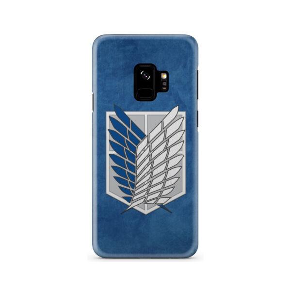 Attack On Titans Recon Corps for Trendy Samsung Galaxy S9 Case