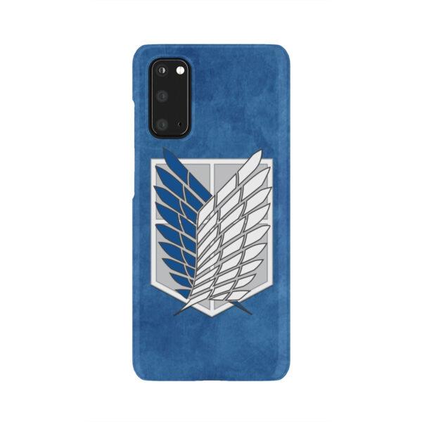 Attack On Titans Recon Corps for Unique Samsung Galaxy S20 Case