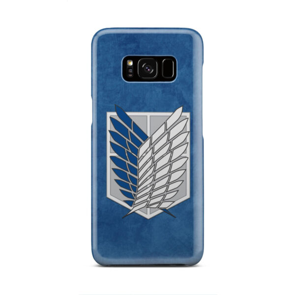 Attack On Titans Recon Corps for Unique Samsung Galaxy S8 Case Cover
