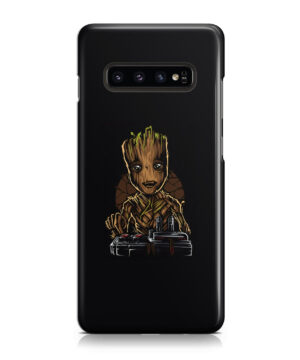 Baby Groot Guardians of The Galaxy for Beautiful Samsung Galaxy S10 Case Cover