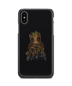 Baby Groot Guardians of The Galaxy for Customized iPhone X / XS Case Cover