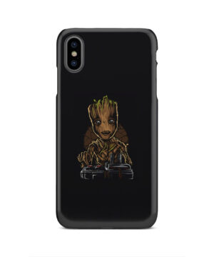 Baby Groot Guardians of The Galaxy for Cute iPhone XS Max Case Cover