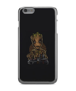 Baby Groot Guardians of The Galaxy for Nice iPhone 6 Plus Case Cover