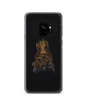 Baby Groot Guardians of The Galaxy for Nice Samsung Galaxy S9 Case