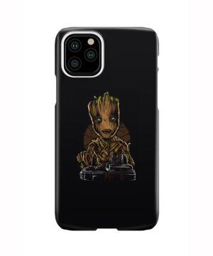 Baby Groot Guardians of The Galaxy for Personalised iPhone 11 Pro Case Cover