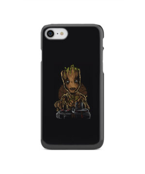 Baby Groot Guardians of The Galaxy for Personalised iPhone SE 2020 Case
