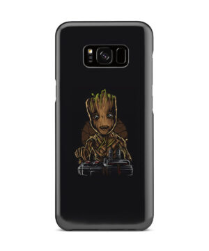 Baby Groot Guardians of The Galaxy for Personalised Samsung Galaxy S8 Plus Case Cover