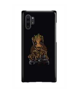 Baby Groot Guardians of The Galaxy for Simple Samsung Galaxy Note 10 Plus Case Cover