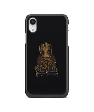 Baby Groot Guardians of The Galaxy for Trendy iPhone XR Case