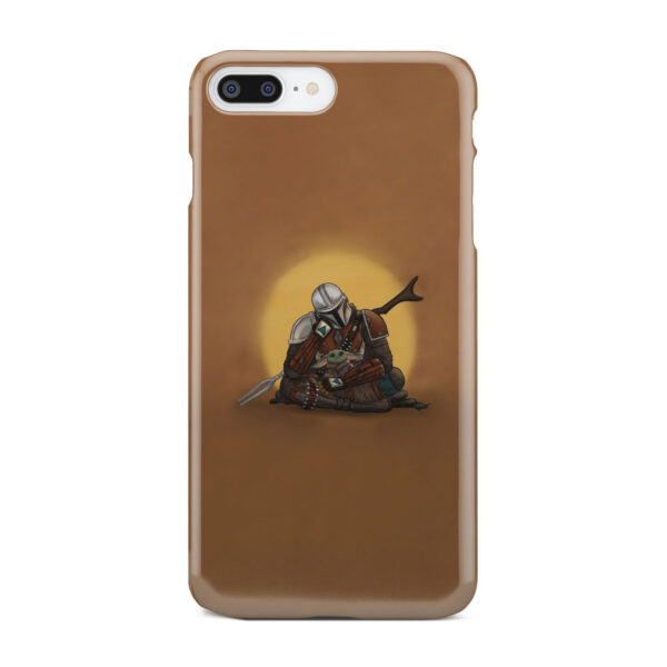 Baby Yoda and The Mandalorian for Amazing iPhone 7 Plus Case Cover