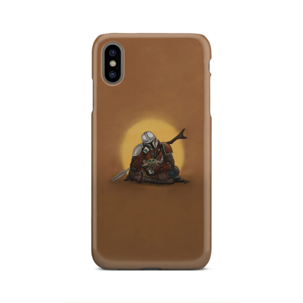 Baby Yoda and The Mandalorian for Beautiful iPhone XS Max Case