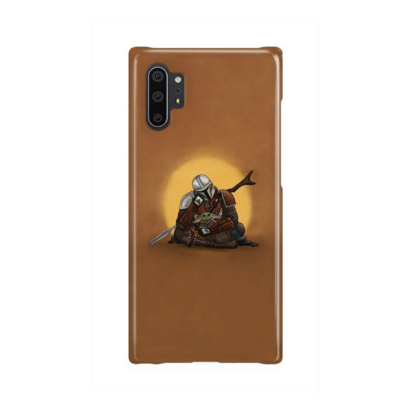 Baby Yoda and The Mandalorian for Custom Samsung Galaxy Note 10 Plus Case Cover