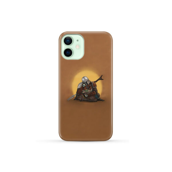 Baby Yoda and The Mandalorian for Nice iPhone 12 Mini Case