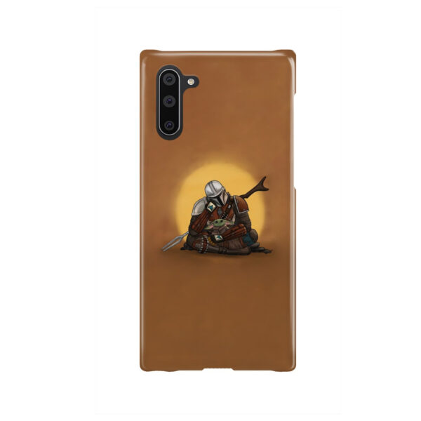 Baby Yoda and The Mandalorian for Nice Samsung Galaxy Note 10 Case Cover