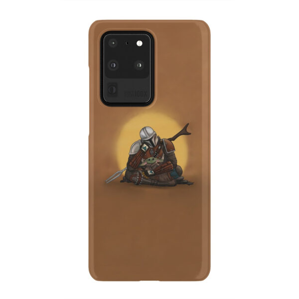 Baby Yoda and The Mandalorian for Stylish Samsung Galaxy S20 Ultra Case Cover